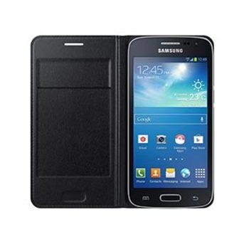 9655SAEFWG386BBEG Samsung Core LTE OEM Black Wallet Flip case
