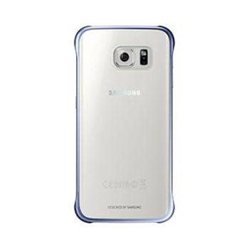 93C8SAEFQG925BBEG Samsung Galaxy S6 Edge OEM Blue-Black Clear Protecti...