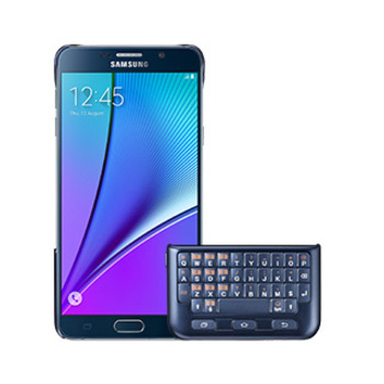9666SAEJCN920UFEG Samsung Galaxy Note 5 OEM Black/Blue Keyboard Cover