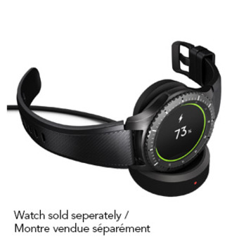 15-01377 Samsung Gear S3 Wireless Smart Watch Charging Dock