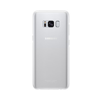 15-01674 Samsung Galaxy S8 OEM Silver Clear Cover