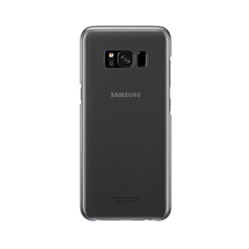 15-01702 Samsung Galaxy S8 Plus OEM Black Clear Cover
