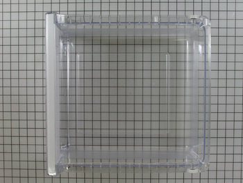 DA97-08438D Samsung Refrigerator Vegetable Crisper Drawer Case Assembl...