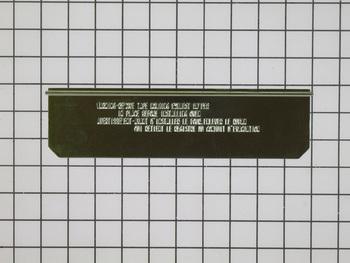 DE71-60051B Samsung Microwave Vent Cover Damper