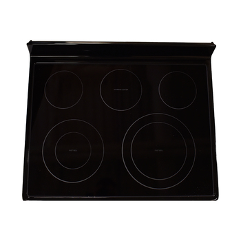 DG94-00735C Samsung Range Oven Glass Main Top Cooktop Frame Assembly