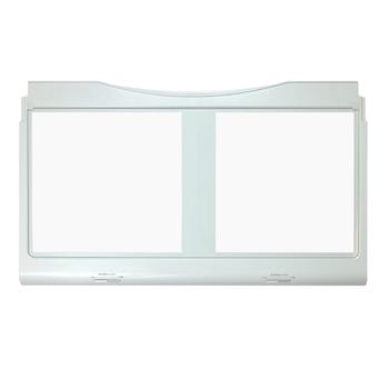 DA97-07019A Samsung Refrigerator Vegetable Crisper Cover Glass Assembl...